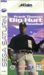 Sega Saturn Game - Frank Thomas Big Hurt Baseball USA [T-8138H]
